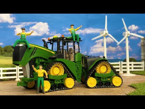 BRUDER TOYS news 2018 | John Deere TRACTOR | Video for kids