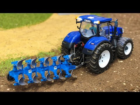 Toys Kids Video Tractor Bruder Farm ActionPlowing For hdsrtQCxB