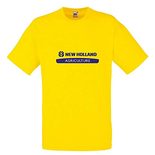 New Holland T Shirt Tractor Enthusiast Farming